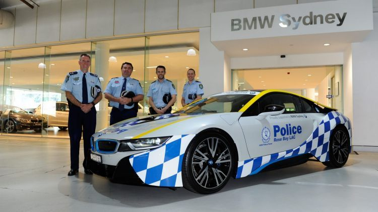 Tesla vs  BMW i8 for NSW Police investment