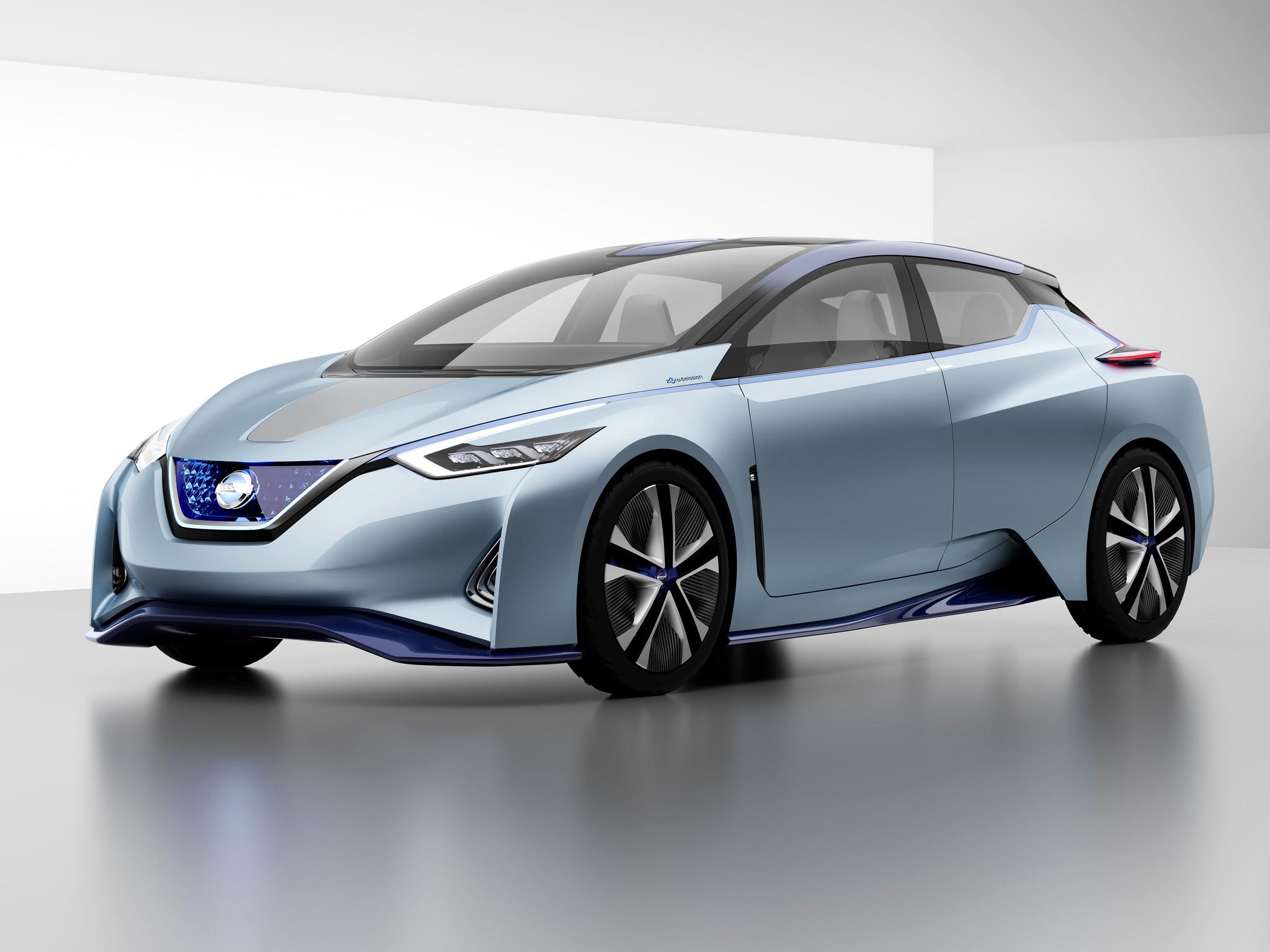 Nissan IDS driver-less car