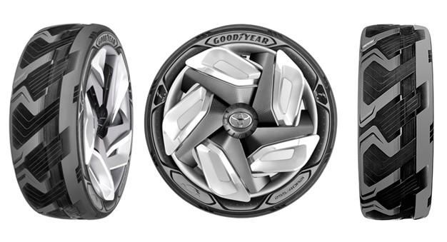 Electric Tire Concept